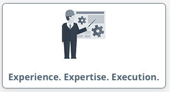 Experience. Expertise. Execution.